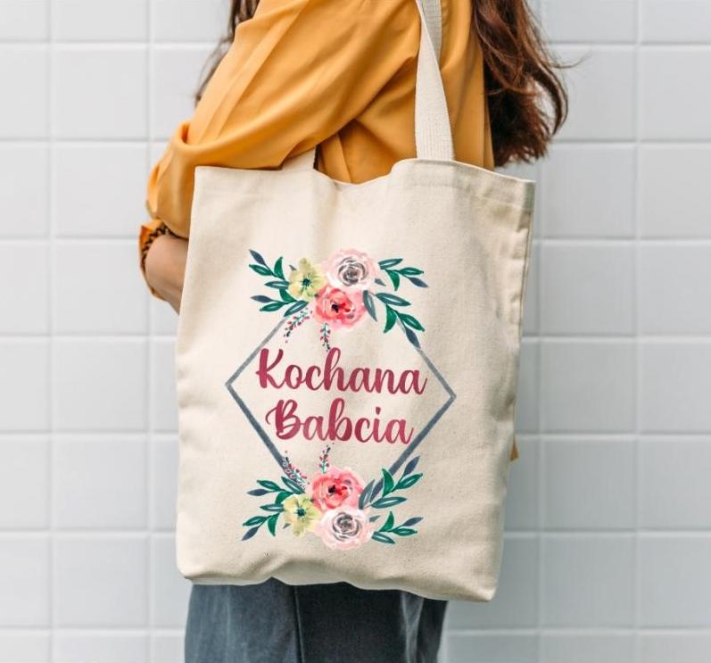 torba bawełniana kochana babcia - czym się wyróżnia?